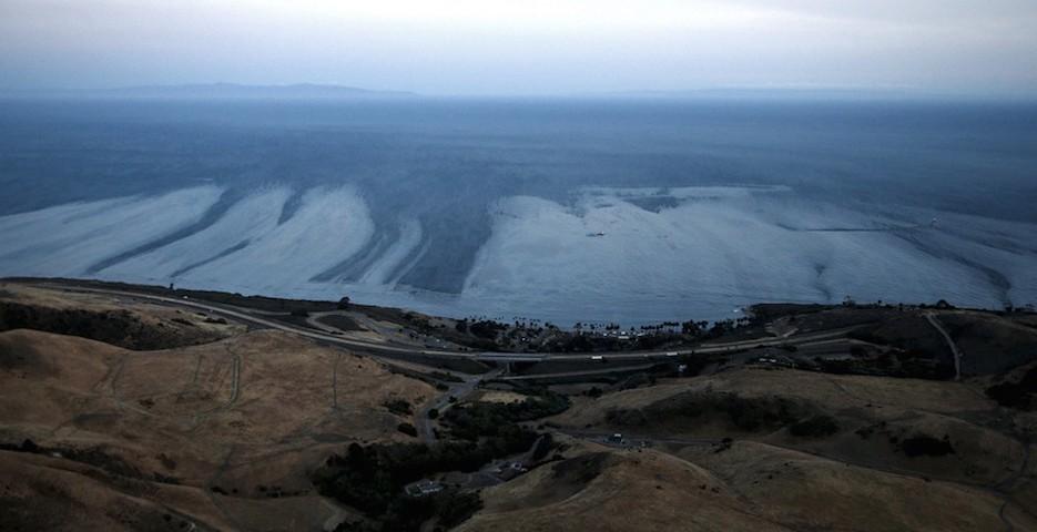 Ölteppich Kalifornien