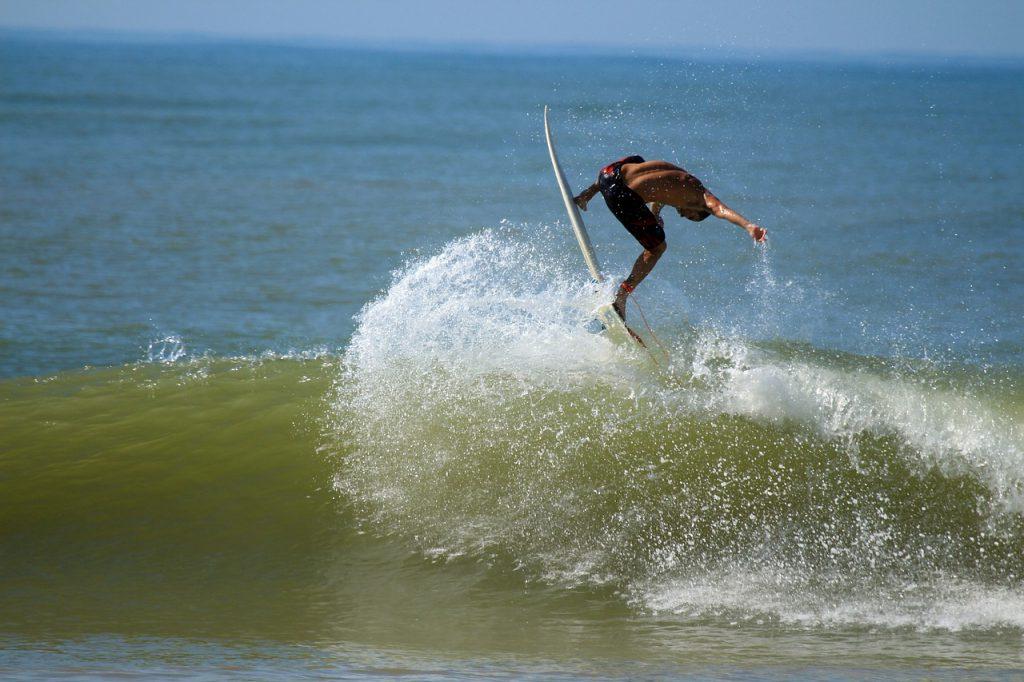 Vorbereitung auf einen Surftrip