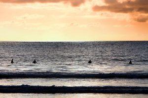 Surfen zur Stressbewältigung