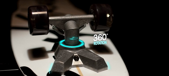 New SurfSkate with V-truck 360° rotation