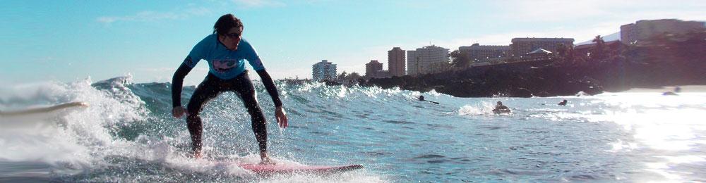 Surfschule auf Teneriffa