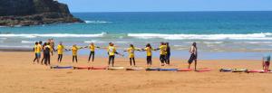 Surfschule in Spanien
