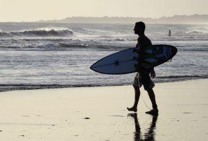 Surfen lernen im Erwachsenenalter